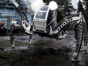 Hörümçək robot ən ekstremal vəziyyətdə də işləyə bilər